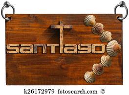 Camino de santiago Clipart and Stock Illustrations. 15 camino de.