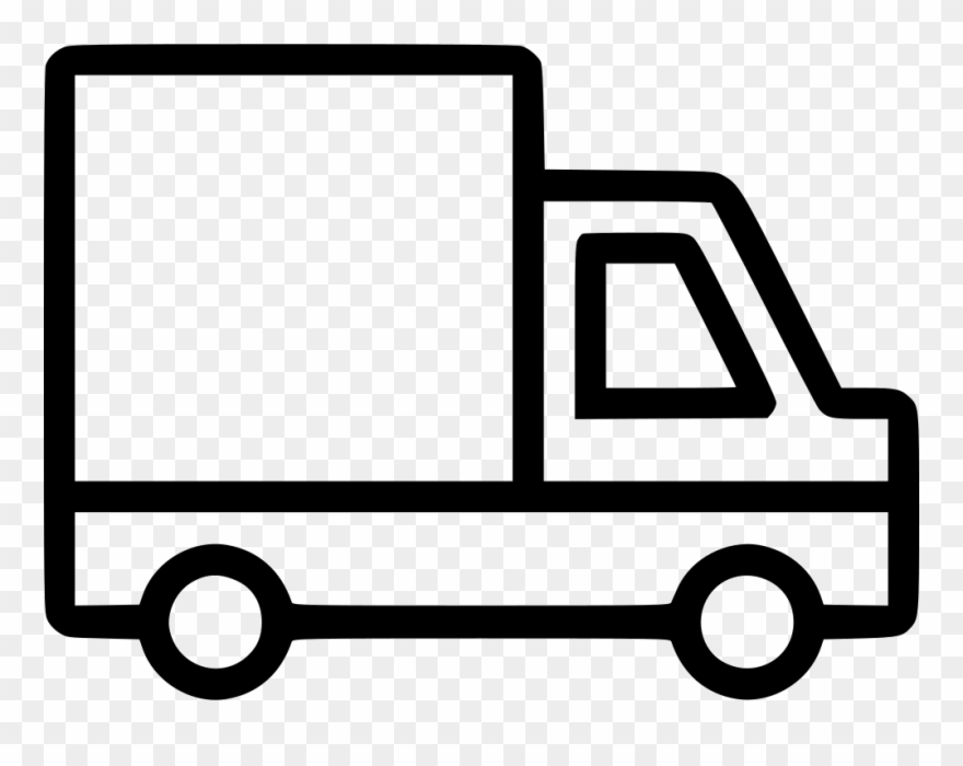 Truck Lorry Wagon Vehicle Traffic Camion Svg Png Icon.