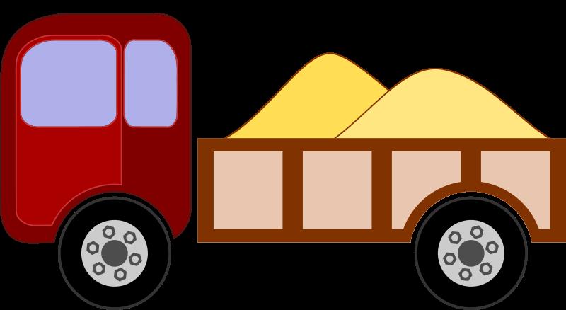 Free Clipart: Camioneta 2.