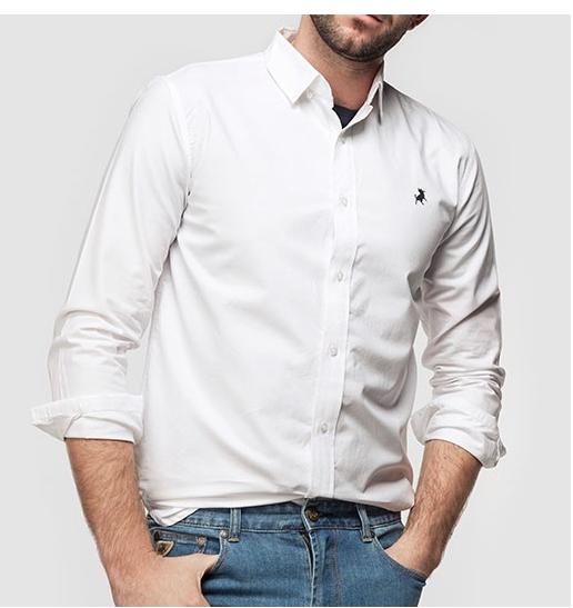 Camisa básica hombre.