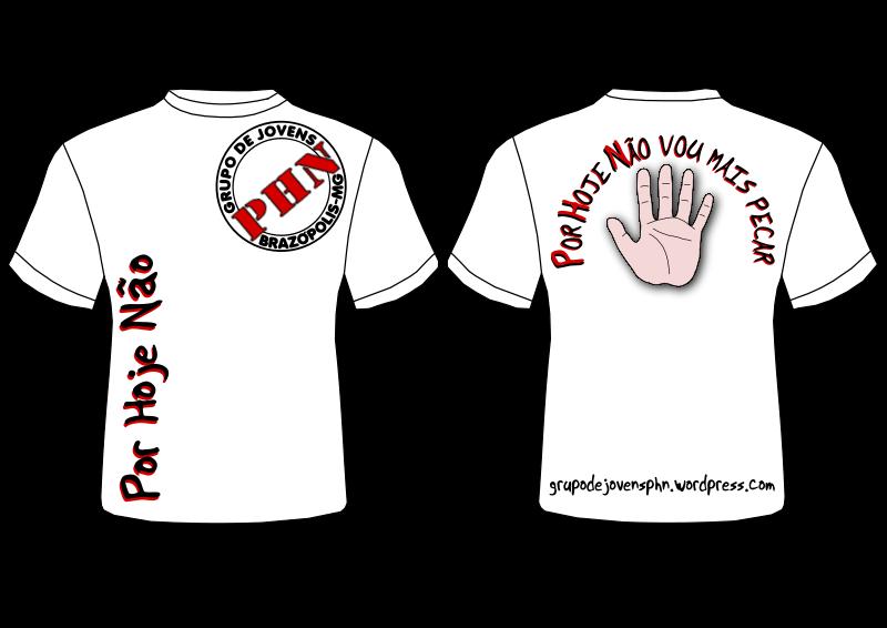 Free Clipart: Camiseta Branca do Grupo de Jovens PHN de.