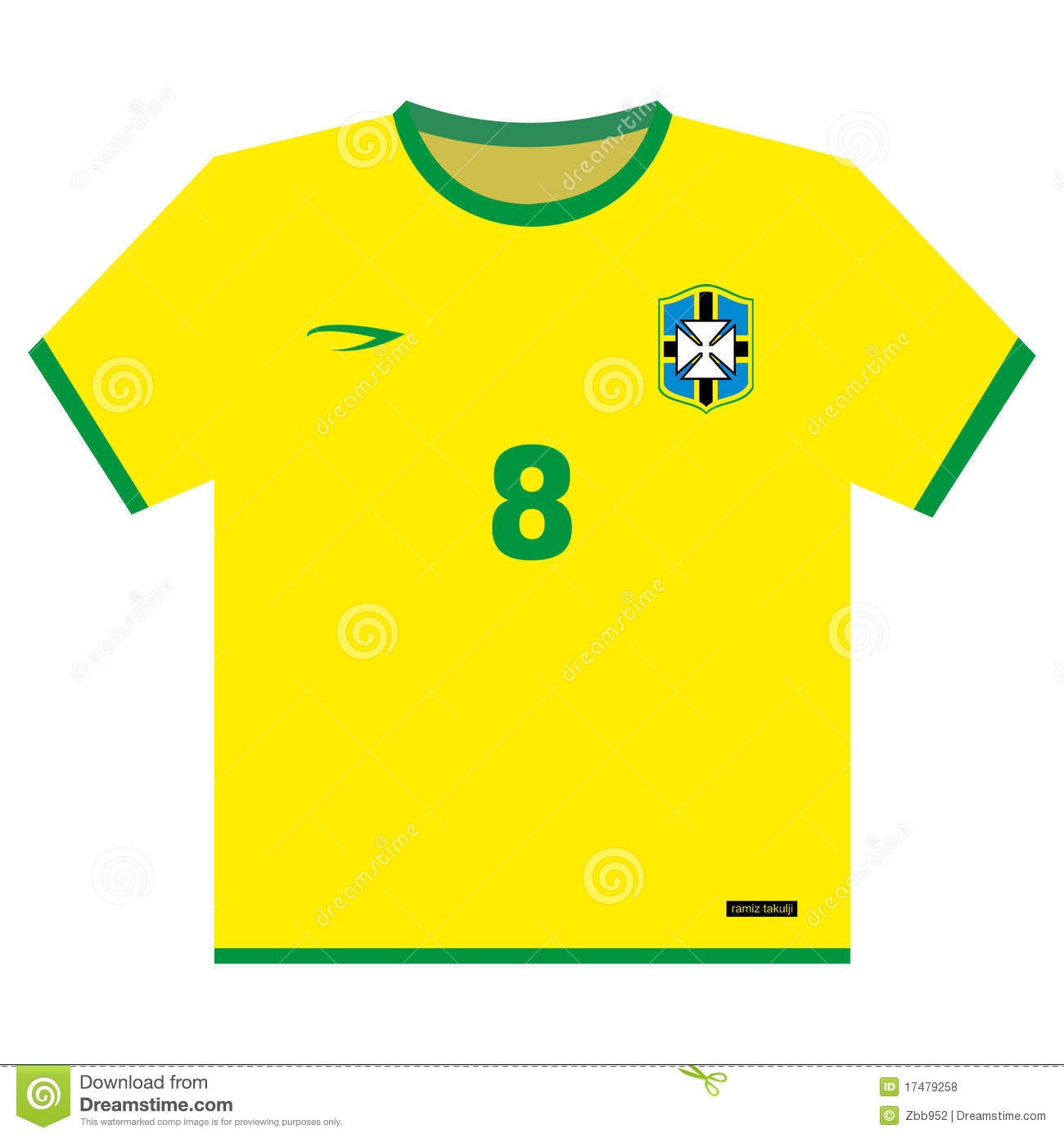 Jersey clipart soccer kit Transparent pictures on F.