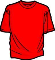 camiseta clipart.