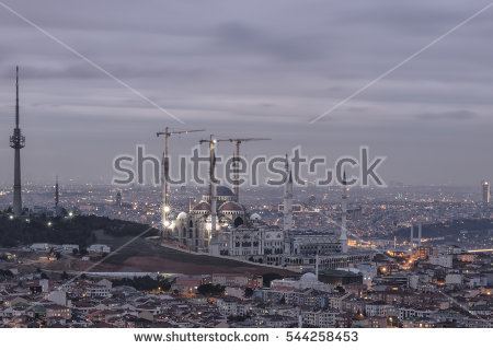 New Istanbul Silhouette Stock Photos, Royalty.
