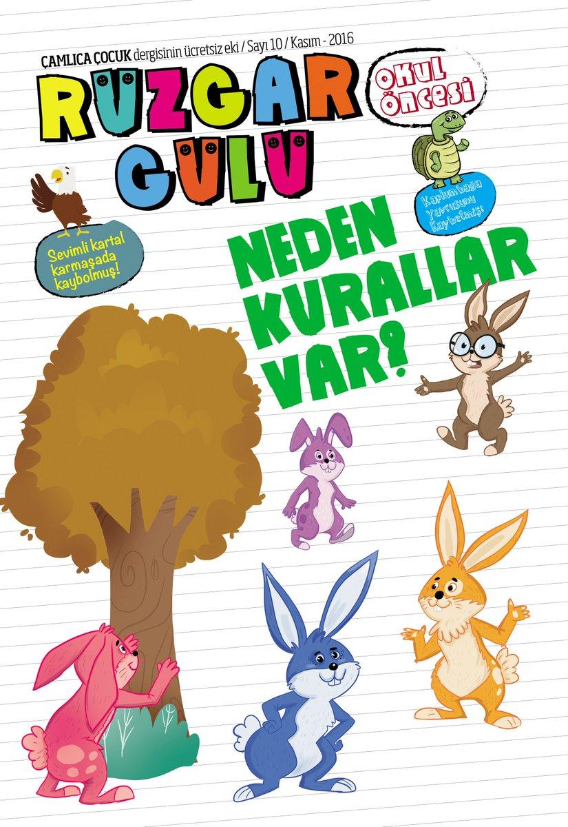 """Çamlıca Çocuk Dergi on Twitter: """"""""RÜZGARGÜLÜ OKULÖNCESİ DERGİSİ."""