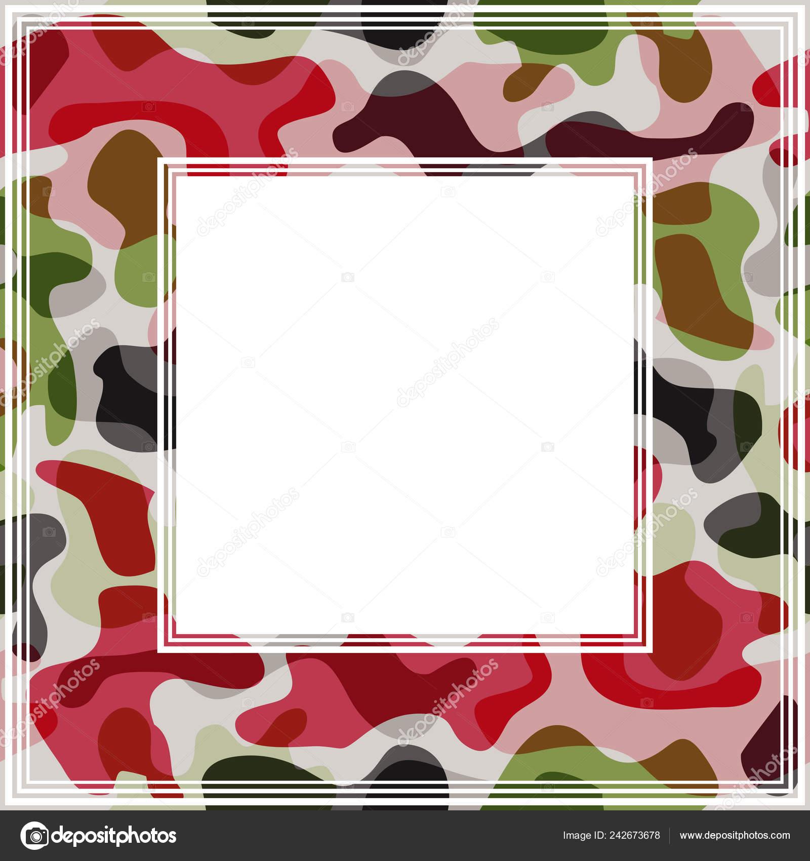 Camo border clip art.