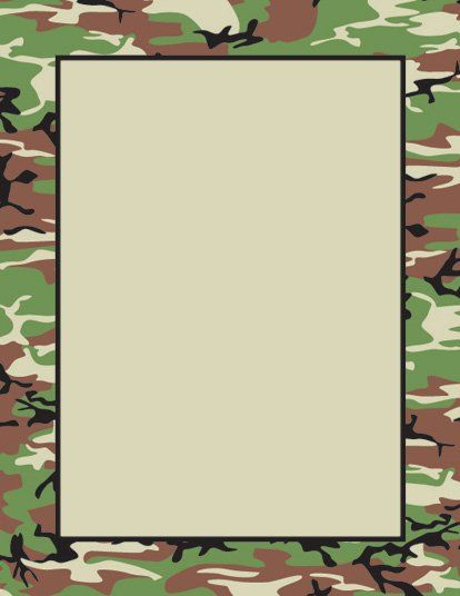 Camoflage Frame by MM.