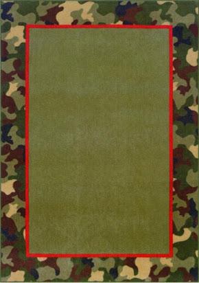Free camouflage border clip art.