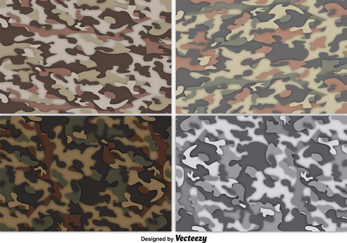 Camouflage Free Vector Art.