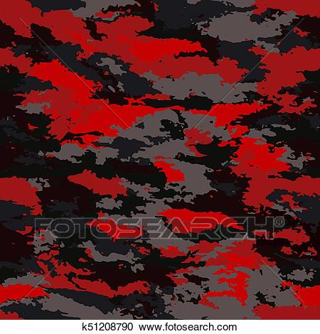 Camouflage military background Clipart.