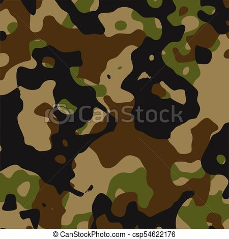 Green and black camouflage pattern.