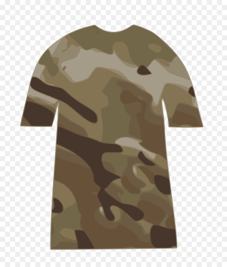 camo shirt no background clipart T.