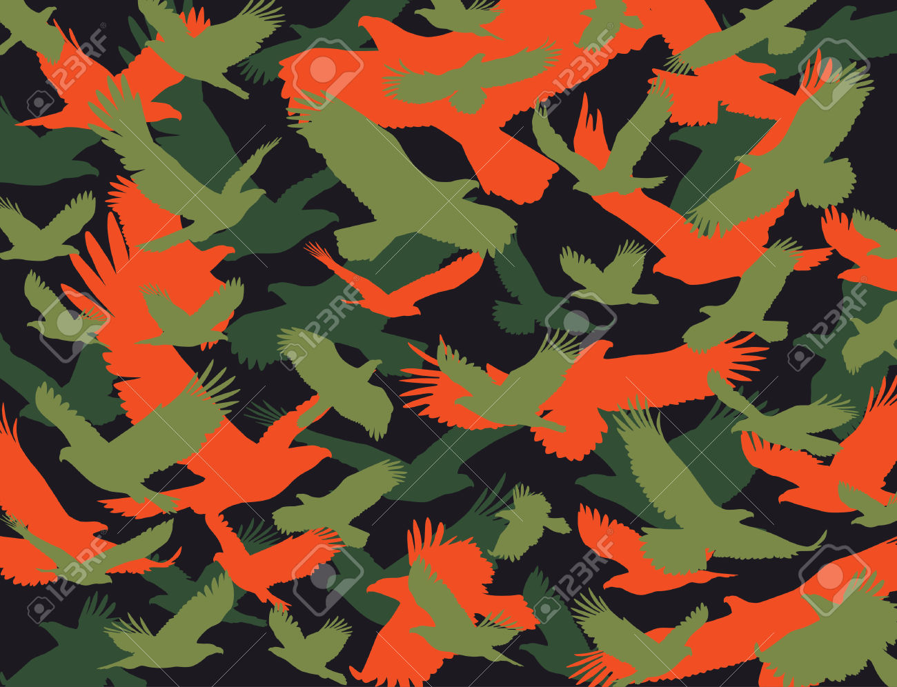 Eagle Camouflage Royalty Free Cliparts, Vectors, And Stock.