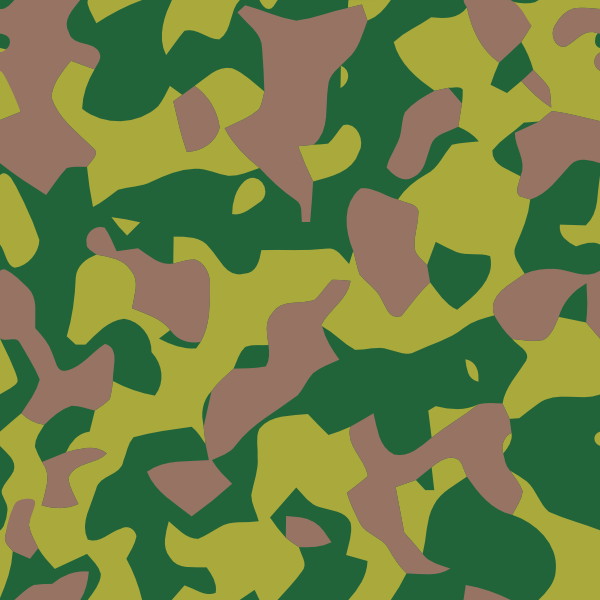 Camouflage clip art (103985) Free SVG Download / 4 Vector.