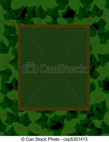 dark camouflage frame.