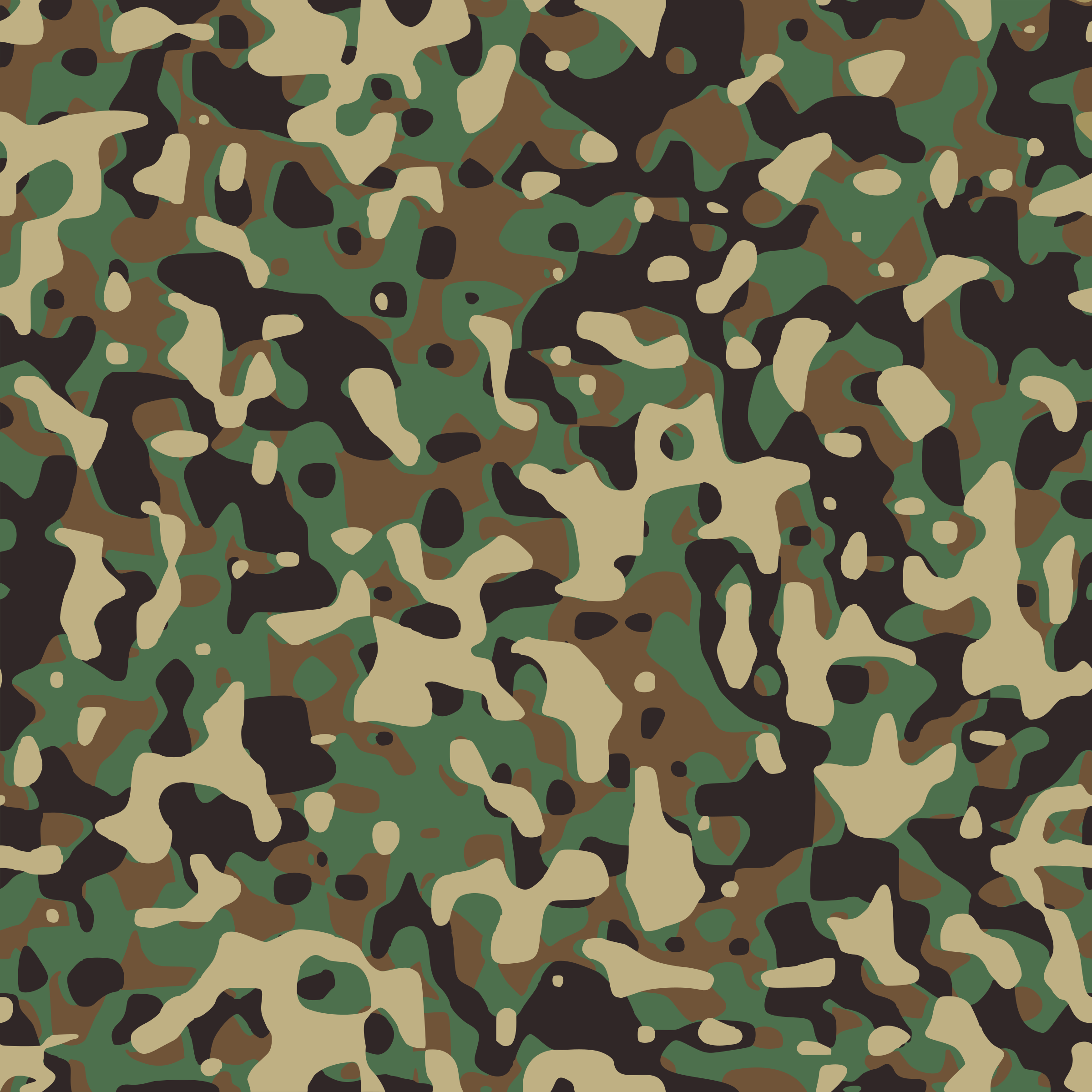Army Camouflage Background Clipart.