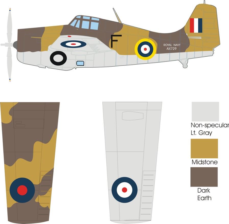 Camouflage Paint Scheme Clipart on Grumman F4f Wildcat Paint Schemes