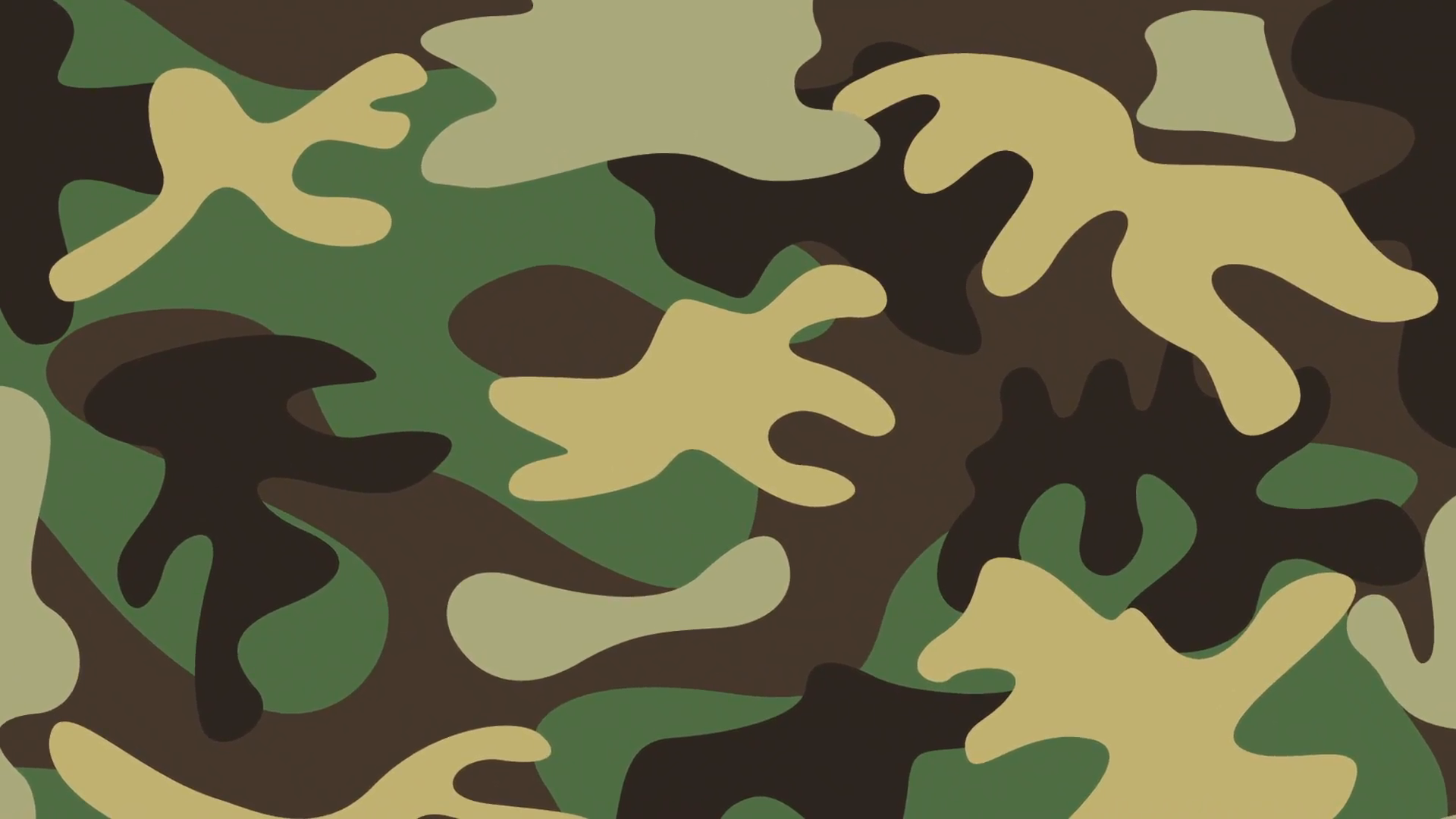 military camouflage design, Video Animation Motion Background.