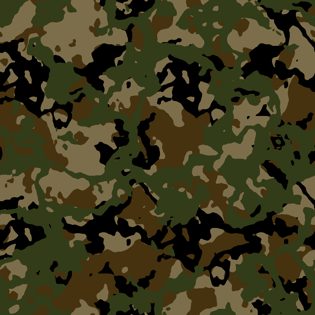 Camouflage.