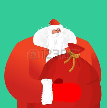 Free Clipart Santa Claus In Camouflage Suit.