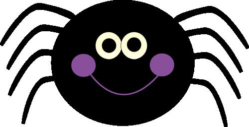 Purple Spider Clipart.