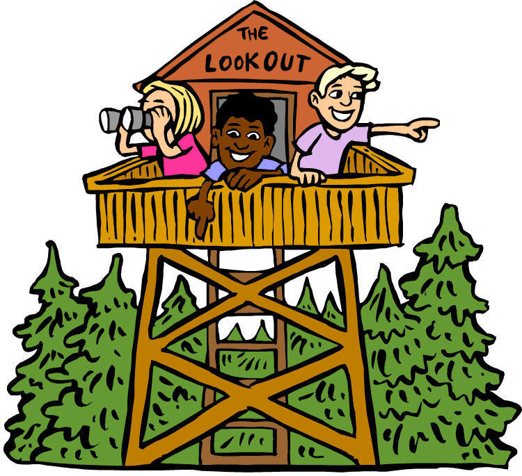 Kids Summer Camp Clipart.