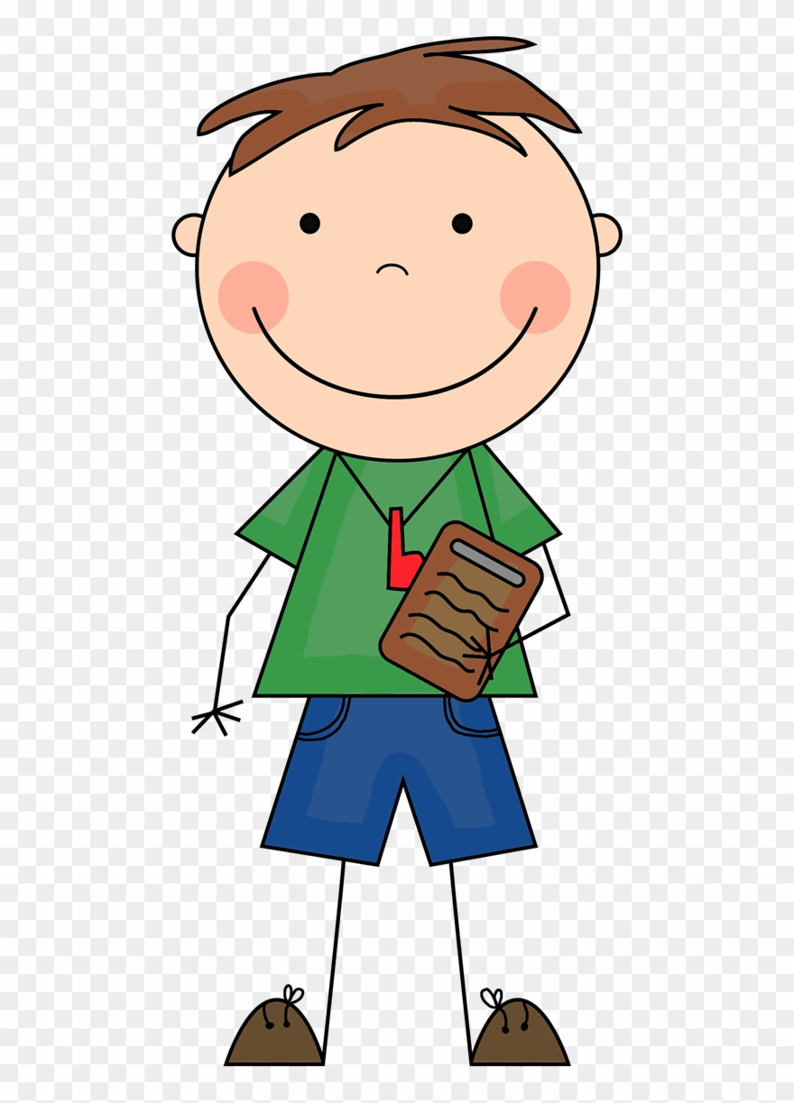Camp Counselor Clipart.
