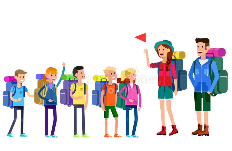 Camp Counselor Stock Illustrations.