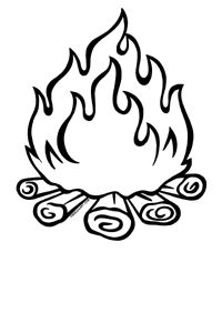 campfire clip art free.