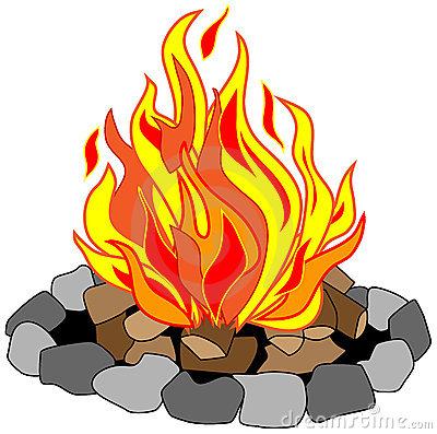 Campfire Clipart.