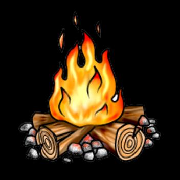 Campfire clip art #33954.