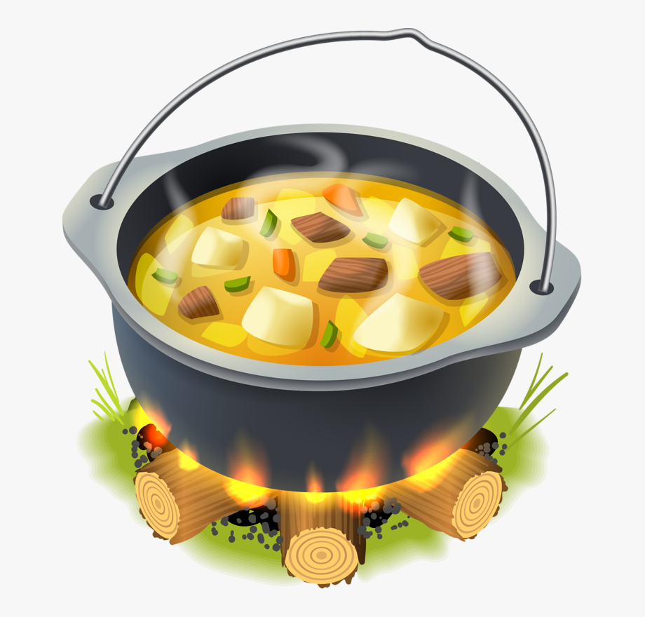 Stew Clipart Camp Food.