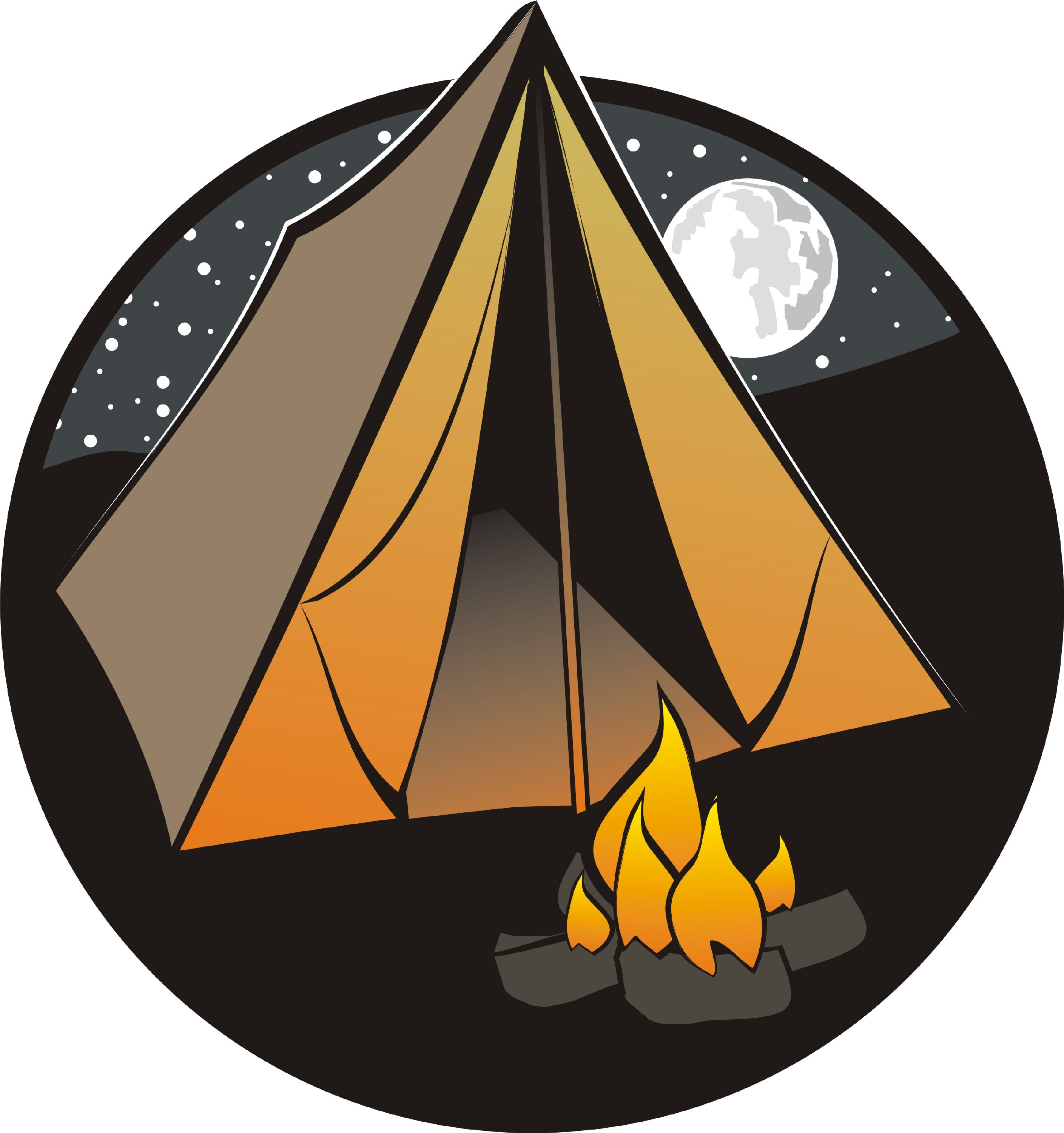 Camping campsite clipart free clipart images clipartbold.
