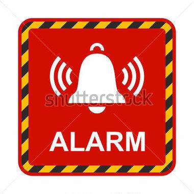 Alarm bell clip art.