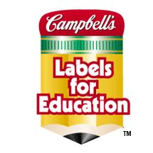 Campbell soup labels clip art.