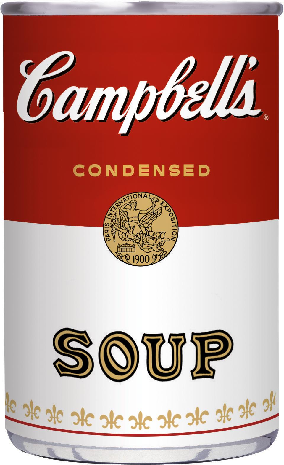 Campbells logo clip art.