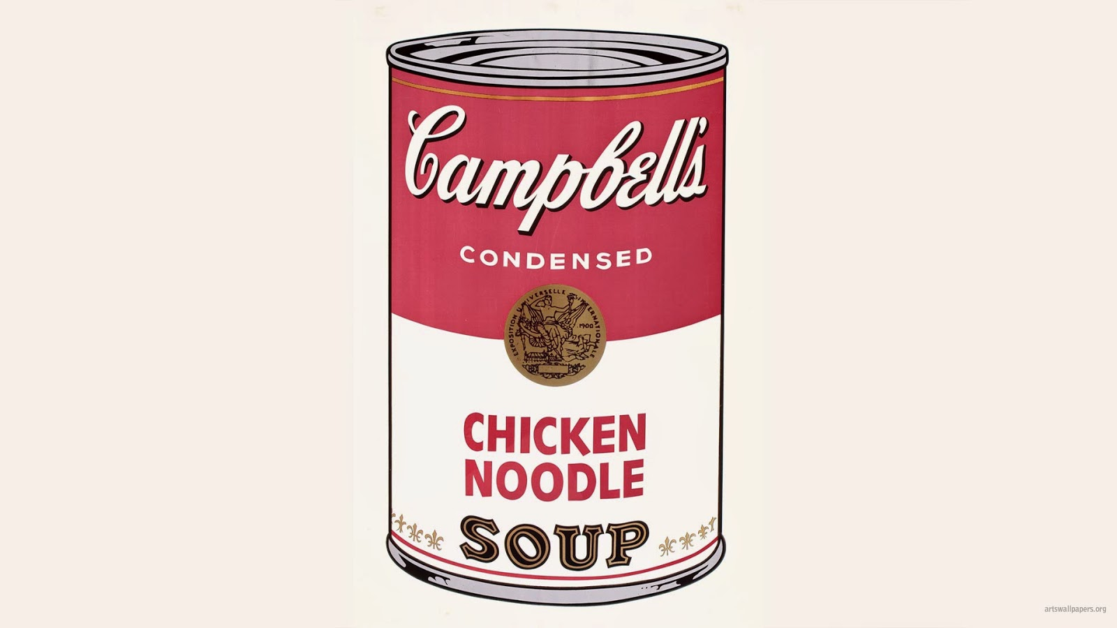 Soup Can Clipart.