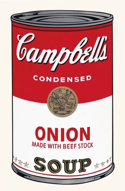 Andy Warhol: Campbell's Soup Cans.