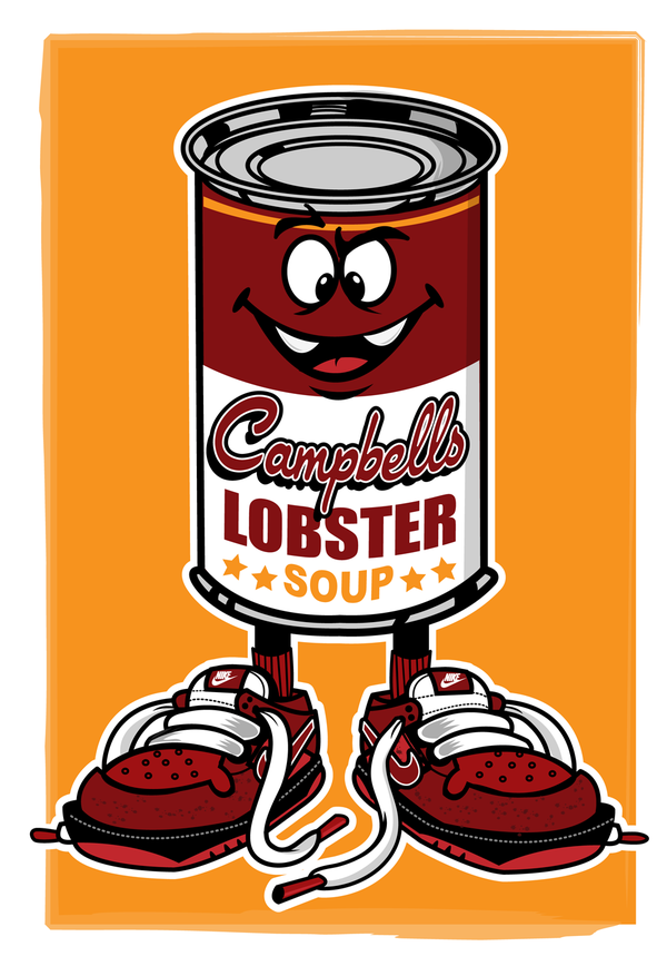 Campbells Soup X Lobster Nike SB.