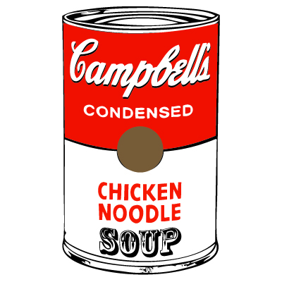 Free campbell soup clipart.