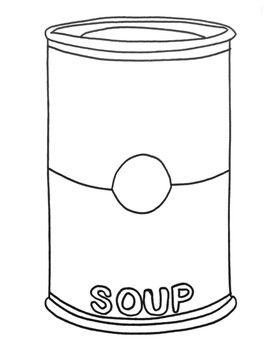Andy Warhol Campbell's Soup Can Pop Art Lesson.