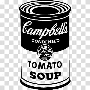 Campbells Soup Cans PNG clipart images free download.