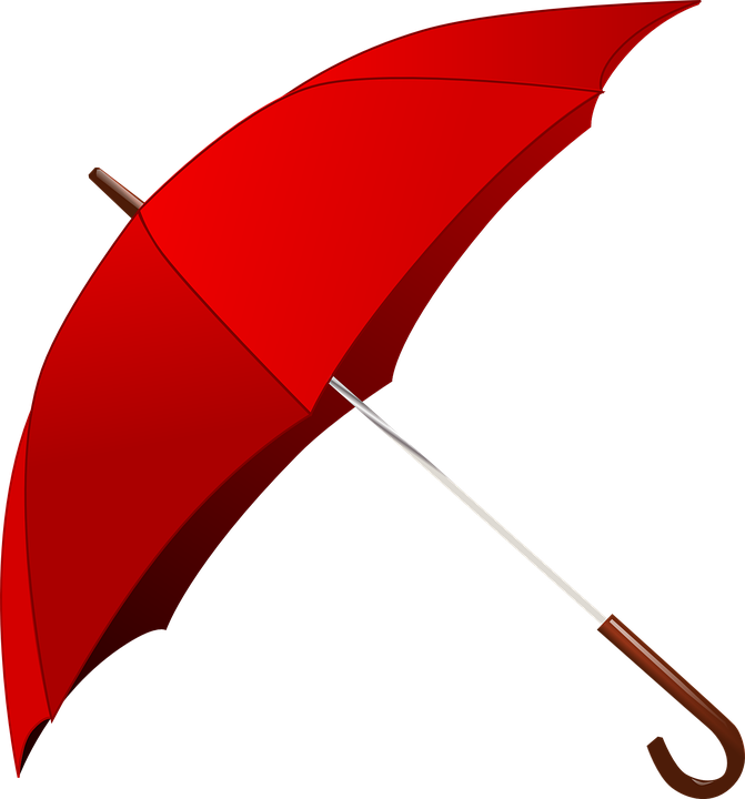 Free vector graphic: Umbrella, Rain, Red, Weather.