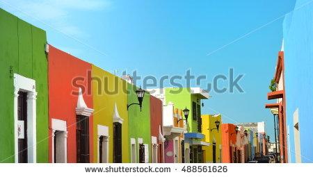 Mexico House Stock Photos, Royalty.
