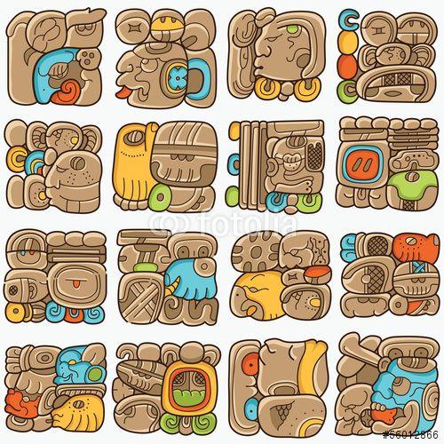 1000+ images about Aztec/Mayan Symbols on Pinterest.