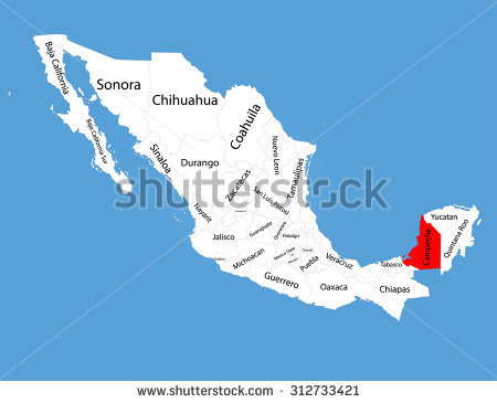 Campeche State Stock Vectors & Vector Clip Art.