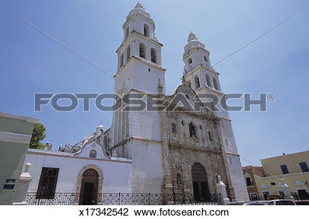 Stock Photo of White church, 16th.