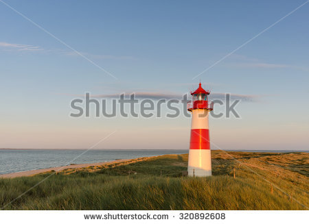 Campen lighthouse clipart #5