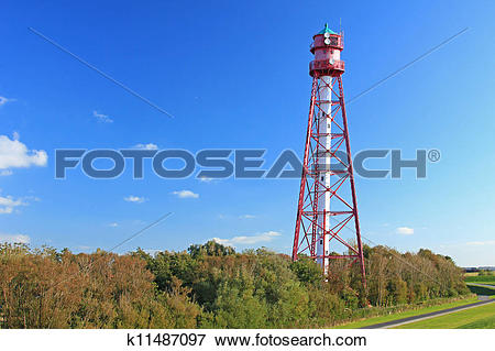 Picture of Campen Lighthouse, Germany k11487097.