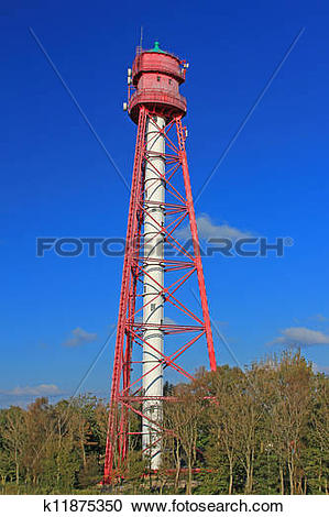Stock Photography of Campen Lighthouse Germany k11875350.